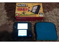 2DS box with Super Mario Brothers II built i 2DS boxed with case with Super Mario Brothers 2 £60