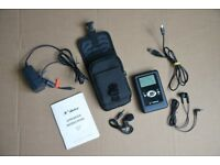 Vosonic X Drive 40 Gb (expandable) , Digital Recorder, MP3 Player & Radio with micphone & earphones