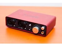 Focusrite 2i2 USB Audio Recorder