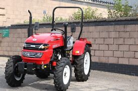25 Hp Diesel Compact Tractor. Brand New. 4 wheel drive. Built in Scotland with warranty