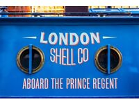 Part Time Waiting Staff - London Shell Co. - 3 shifts a week
