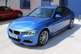 2014 BMW 335D XDRIVE HUGE SPEC STUNNING CONDITION ESTROIL BLUE