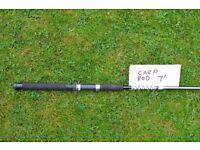Carp fishing rod