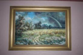 Beautiful Original Oil Painting by Named artist waiting to grace your feature wall