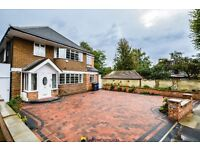 5 double bedrooms, 4 spacious receptions, a very large private garden