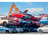 WANTED ANY SCRAP CARS TAKEN GOOD PRICES PAID