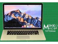 15.4' Apple Retina Macbook Pro 2Ghz i7 Quad Core 8GB Ram 256GB SSD Vectorworks CorelCad Rhinoceros