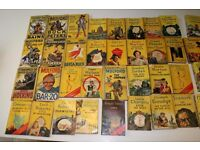 Vintage Yellow Jacket 1950's books