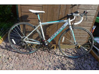 """Carrera Zelos Ladies Road Bike, hardly used, 46cm suits height 5' 2"""" - 5' 6"""""""
