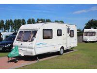 Bailey Ranger 500/5 2002 5 Berth Single Axle Touring Caravan