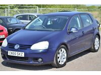 2005 (55) VW Golf 2.0 GT TDI 5 door - 6 speed manual 2 keepers long mot. Sportback Leon A3