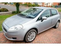 Fiat Grande Punto, 1.2 Dynamic, 5 Door, Silver, Low Mileage