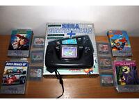 Video Game / Retro Gaming - Game Gear ( Refurbished - new capacitors ) + 11 Games Bundle