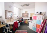Bright, light studio/office space to rent in Bristol: Deben House – good for sharers