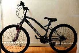 "Muddyfox 26"" serenity hardtail Bike with accessories worth 50£."