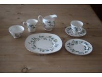 Bone china set - 34 pieces