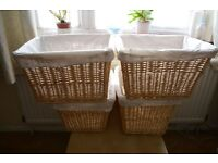 Baskets for storage all four of them