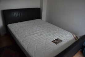 King Size Bed Frame and Mattress