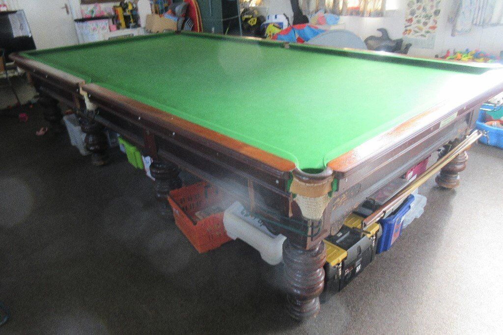 Traditional Full Size Billiard Table Free