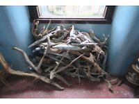 Scottish loch driftwood - large pile - sculpture/craft perfect