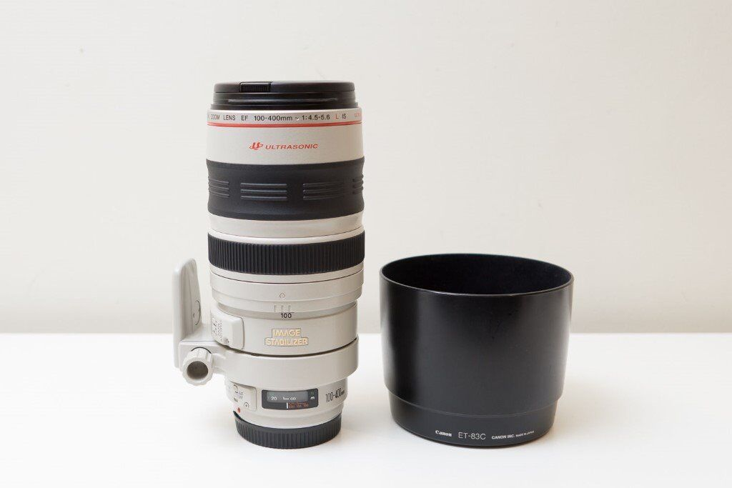 Canon 100-400mm EF f4.5-5.6 IS Ultrasonic L series lens