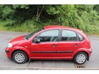 Red Citroen C3 Lx 2003 FOR SALE £1000 88000 mileage petrol 1.4l