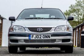 2002 Toyota Avensis 1.8 Petrol