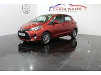 TOYOTA YARIS VVT-I ICON M-DRIVE S (red) 2014