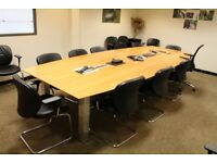 12 Person Boardroom Table
