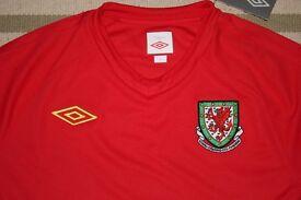 Umbro Wales Football Shirt