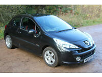 Peugot 207 1.4 Verve 2009 model. Very low mileage. - Ideal first car, cheap insurance!