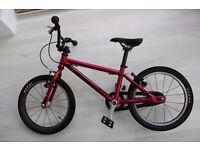 Girls bike (age 4-6) Islabike cnoc 16 pink