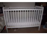 Baby cot bed and Spring Cotbed mattress (Pick up only at NW8)