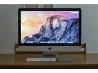 iMac 27-inch 512GB SSD + 1TB HDD, 12GB RAM, OSX El Capitan, Office/Adobe CC & more!
