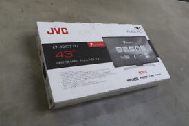 "Ex-Display Flat Screen Full HD (LT43C770) JVC 43"" - £150ono"
