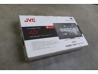 """Ex-Display Flat Screen Full HD (LT43C770) JVC 43"""" - £150ono"""