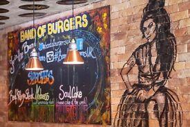 Grill Chef / Head Chef - Gourmet Burger Restaurant