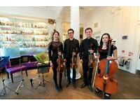 String Quartet Available for Hire- The Rosewood Quartet