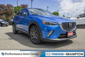 2017 Mazda CX-3 GT|REAR CAM|BLUETOOTH|AWD|LEATHER|SUNROOF|BOSE