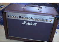 Acoustic guitar amp 50W- Marshall AS50D