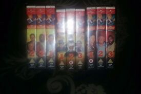 The A Team Vidio collection VHS Tapes