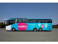 Ouibus voucher to Europe
