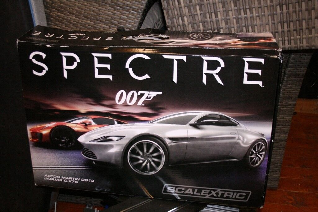 Complete S.P.E.C.T.R.E James Bond Scalextric racing set