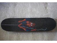 Spiderman skate board 30' new