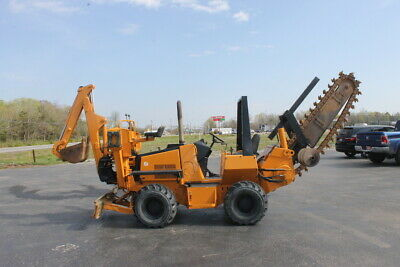 Astec Case Rt660 Trencher-1200 Hrs-cummins Power-rock Teeth-ready To Work