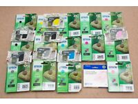 Epson 2100/ 2200 genuine/ original ink bulk buy bargain! Inc light magenta T0346 22 cartridges!