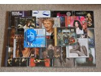 20 CDs from various artists & genres