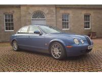 Jaguar s type facelift model with full history and mot beautiful car manual gearbox