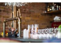 NOW HIRING IN CHELSEA - BAR & WAITING STAFF - FULL & PART-TIME