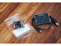 Lexar 64GB 3500x CFast 2.0 Card + SanDisk Extreme Pro CFast 2.0 Reader/Writer